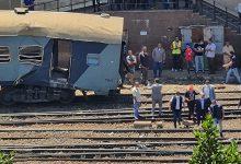 صورة الصحة: إصابة ٤٠ مواطناً في حادث قطار الإسكندرية