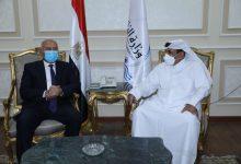 صورة الوزير يبحث مع نظيره القطري التعاون في مجال النقل البحري